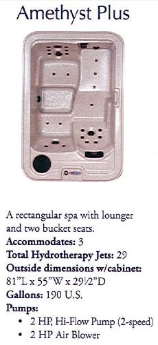 QCA Spas Amethyst Plus Spa